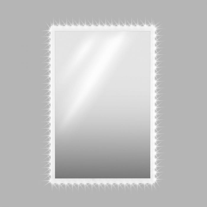 OneConcept Goldmund Miroir mural 120x80cm éclairage LED capteur infrarouge