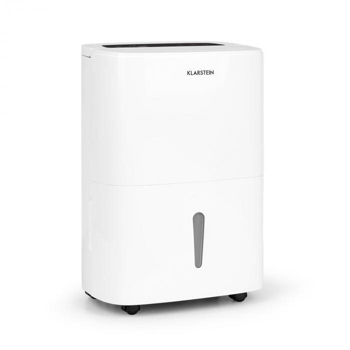 Klarstein DryFy 20 Déshumidificateur d'air Compression 20l/24h 420W Minuterie -blanc