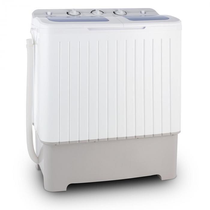 Oneconcept Ecowash XXL Machine à laver 6,8 kg essoreuse 5,2 kg