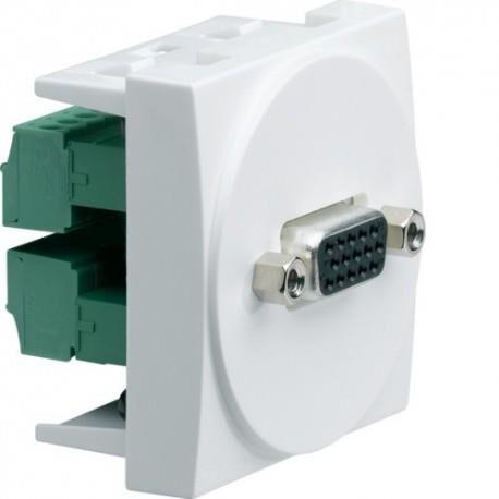 HAGER Systo 2M SUB-D15 (VGA) HAGER WS276