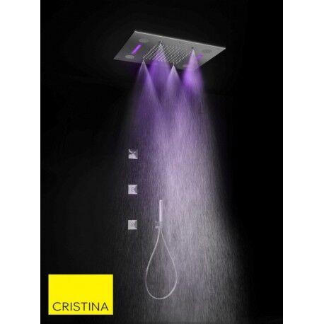 CRISTINA ONDYNA Ciel de pluie Chromothérapie brumisateur + musique connecté Chromé Temptation - CRISTINA ONDYNA TT44251