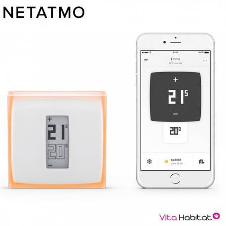 NETATMO Thermostat connecté NETATMO - NTH01-FR-EC