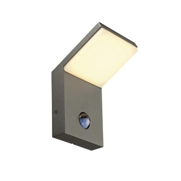 SLV Applique Extérieure LED anthracite avec Capteur de mouvement ORDI - SLV 232915