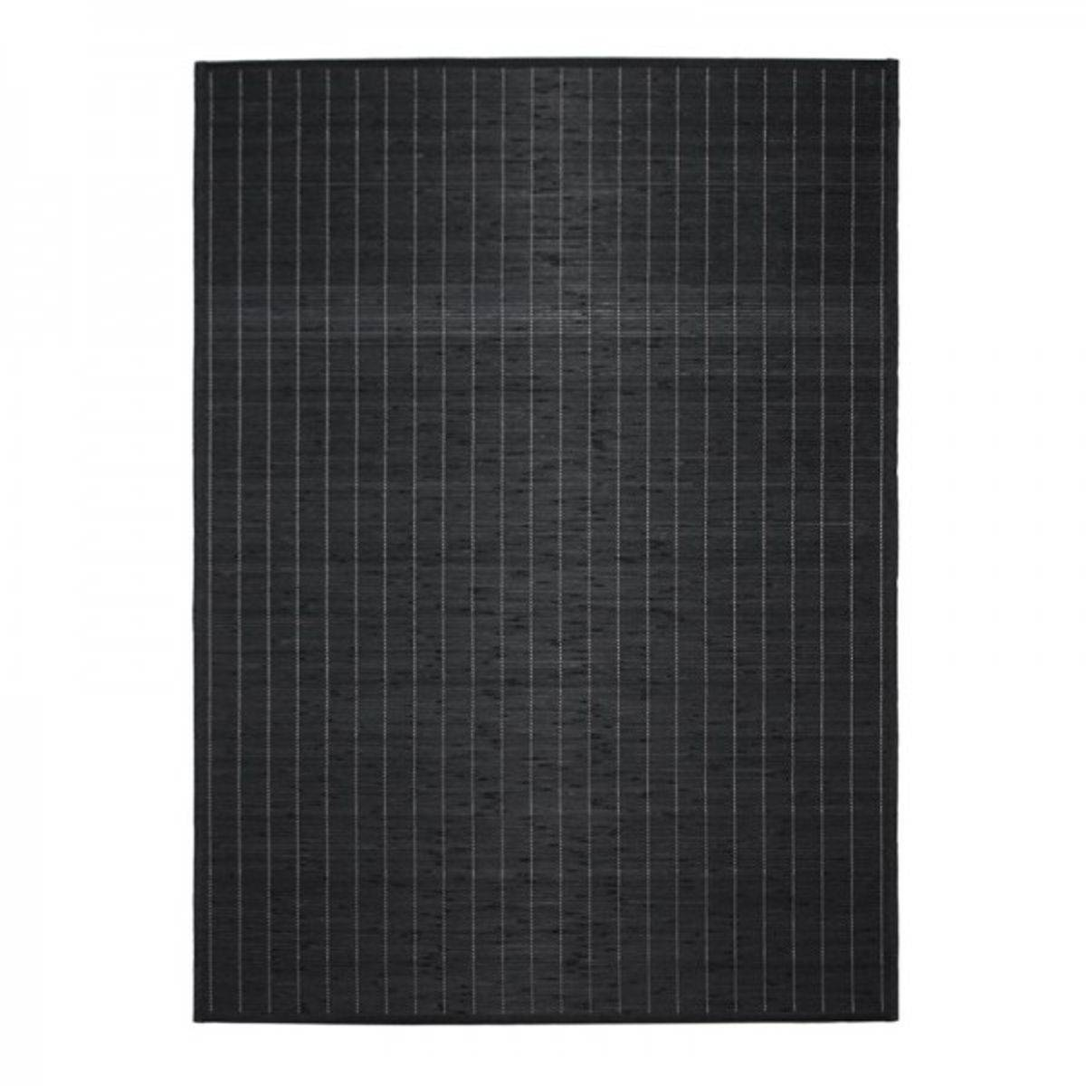 TheDecoFactory BALI CHIC - Tapis en bambou noir 60x90 Noir