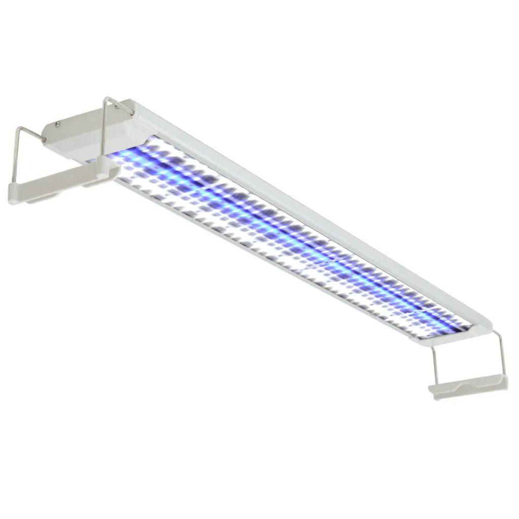 vidaXL Lampe à LED pour aquarium 80-90 cm Aluminium IP67