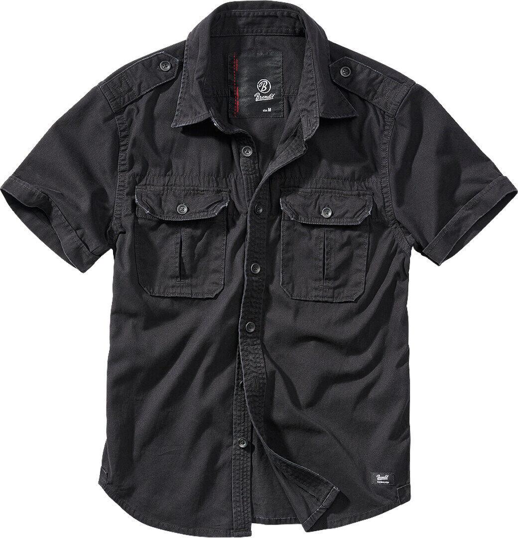 Brandit Vintage Chemise Noir taille : 4XL