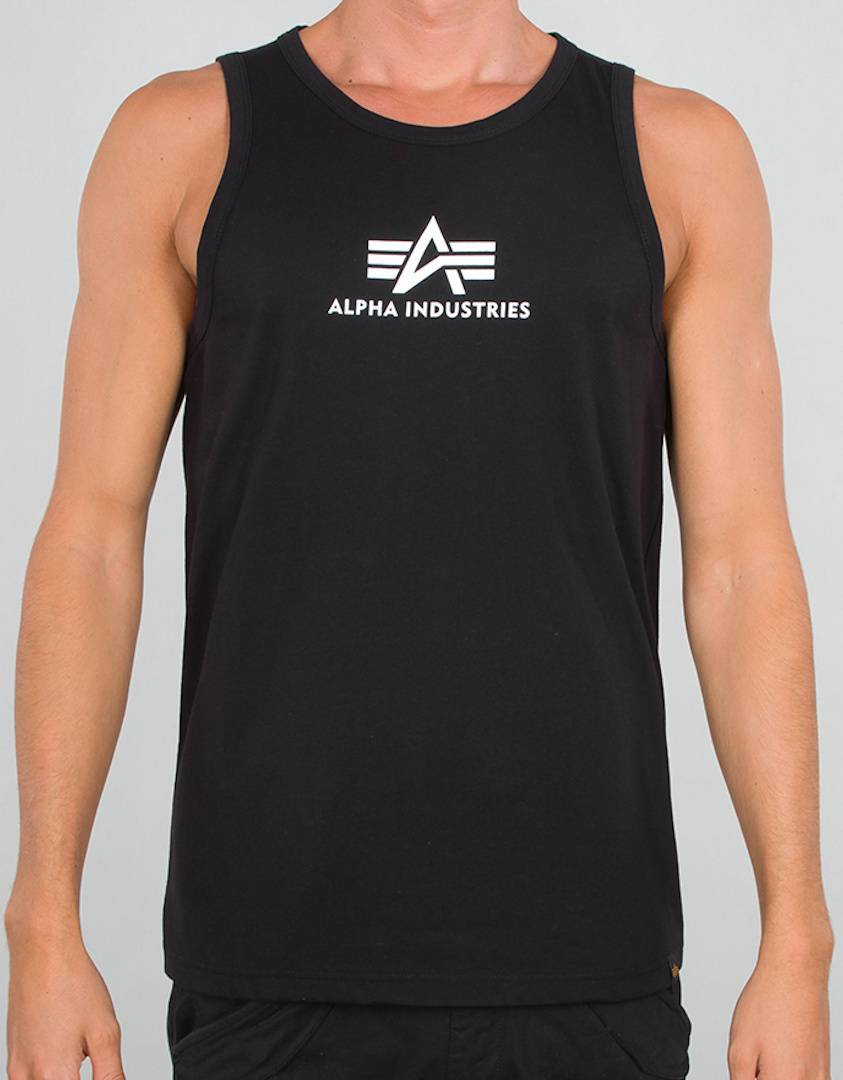 Alpha Industries Basic Débardeur Noir taille : XL