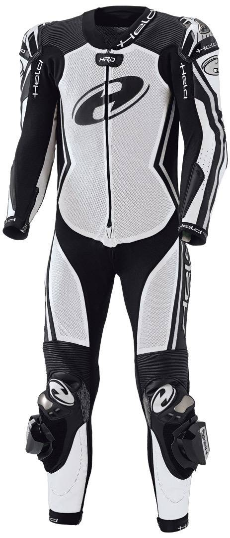 Held Full Speed Combinaison de cuir de moto féminin de One Piece Noir Blanc taille : 40