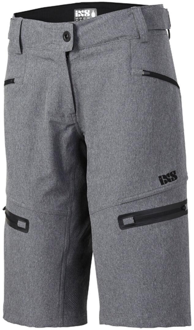 IXS Sever 6.1 BC Shorts de dames Gris taille : 2XL