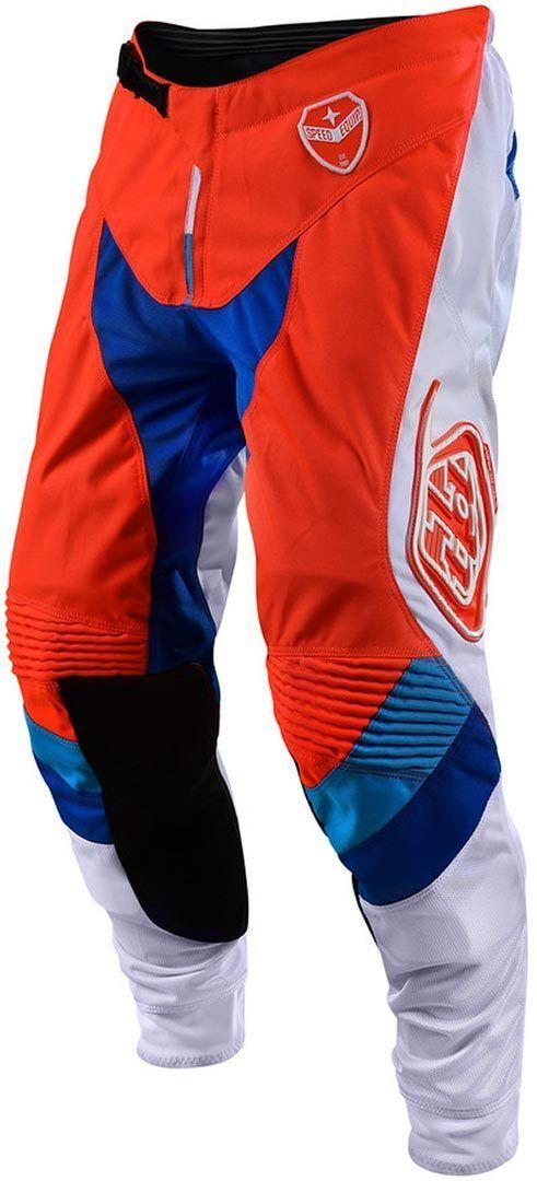 Troy Lee Designs SE Corse Jeans/Pantalons Blanc Orange taille : 28