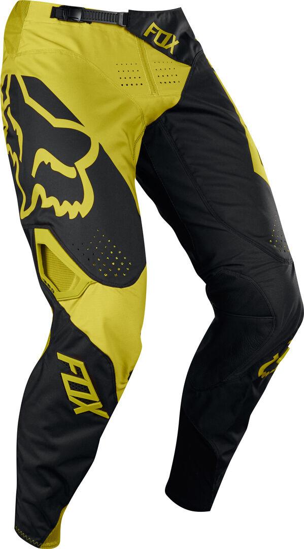 FOX 360 Preme Jeans/Pantalons Noir Jaune taille : 30