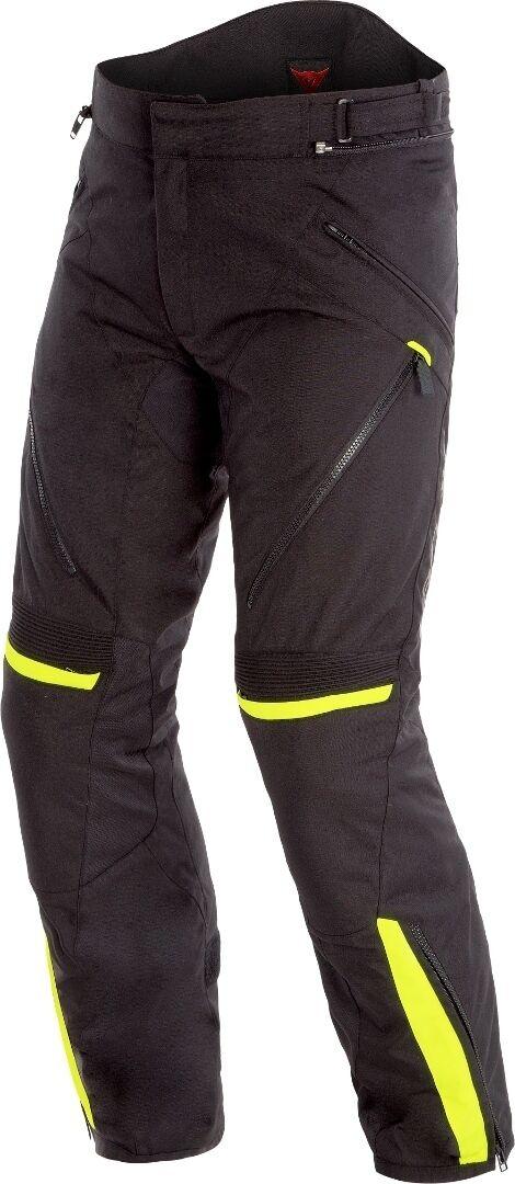Dainese Tempest 2 D-Dry Pantalon Textile moto Noir Jaune taille : 58