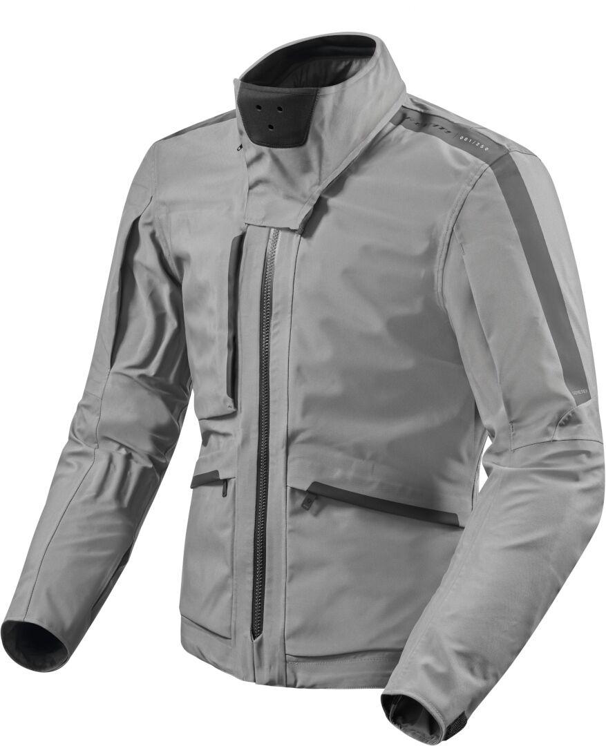Revit Ridge Gore-Tex Veste Textile moto Gris taille : 2XL