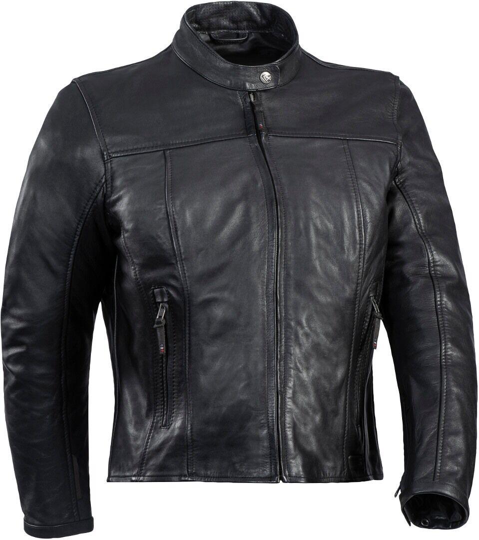 Ixon Crank-C Veste de moto en cuir de dames Noir taille : 3XL