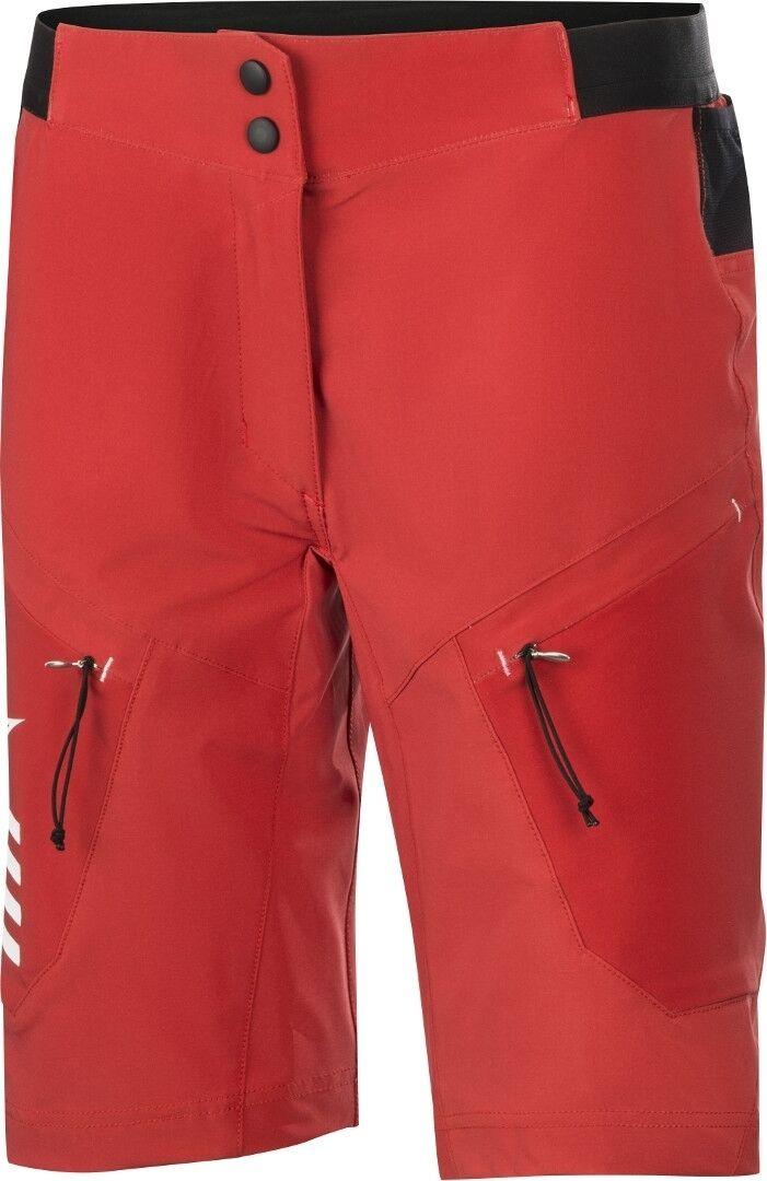 Alpinestars Stella Hyperlite Shorts de vélo de dames Rouge taille : 28