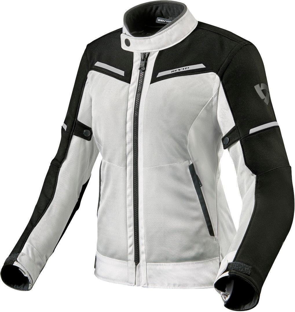 Revit Airwave 3 Veste textile Motocycle Dames Noir Blanc taille : 38