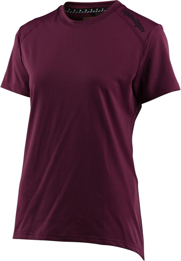 Troy Lee Designs Lilium T-shirt de vélo pour dames Rouge taille : S