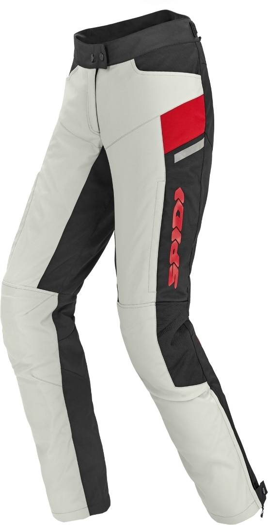 Spidi Voyager H2Out Pantalon Textil de moto de dames Noir Gris taille : S