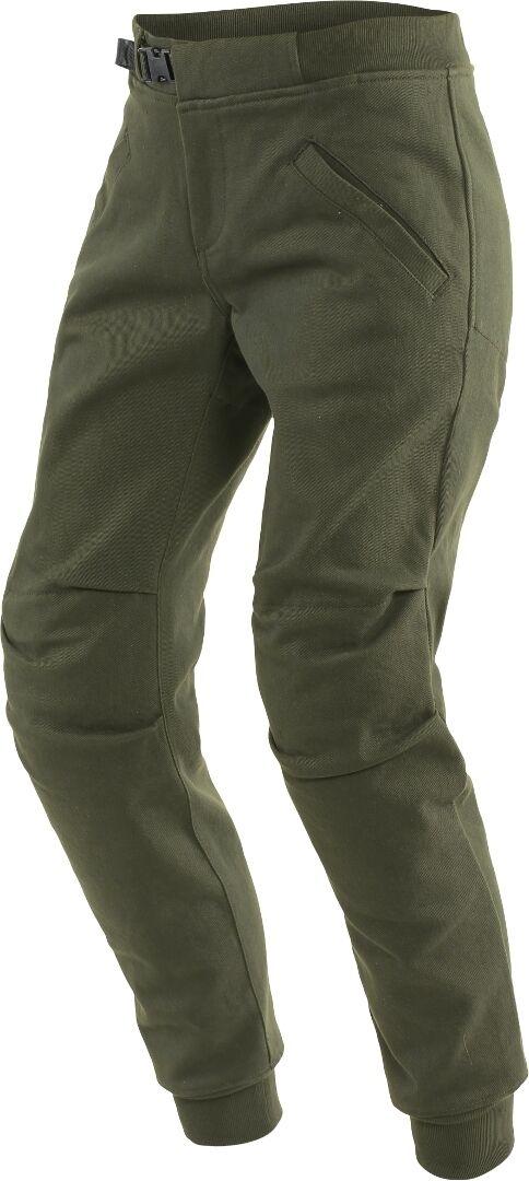 Dainese Trackpants Pantalon textile de moto de dames Vert taille : 31