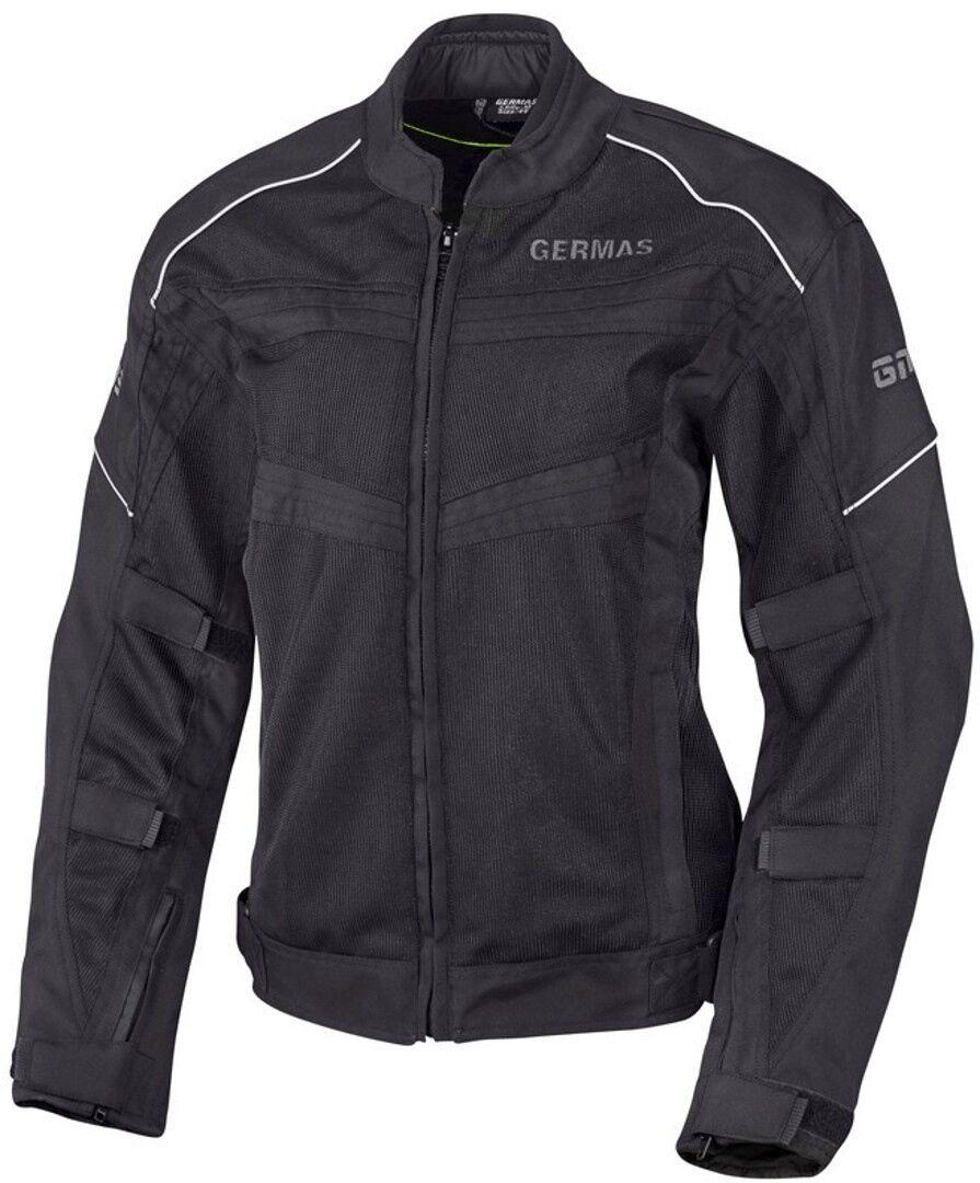 GMS Outback Veste textile de moto de dames Noir taille : XS