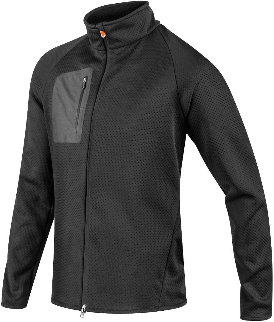 Komperdell Full Zip Sweater Veste protectrice Noir Orange taille : M