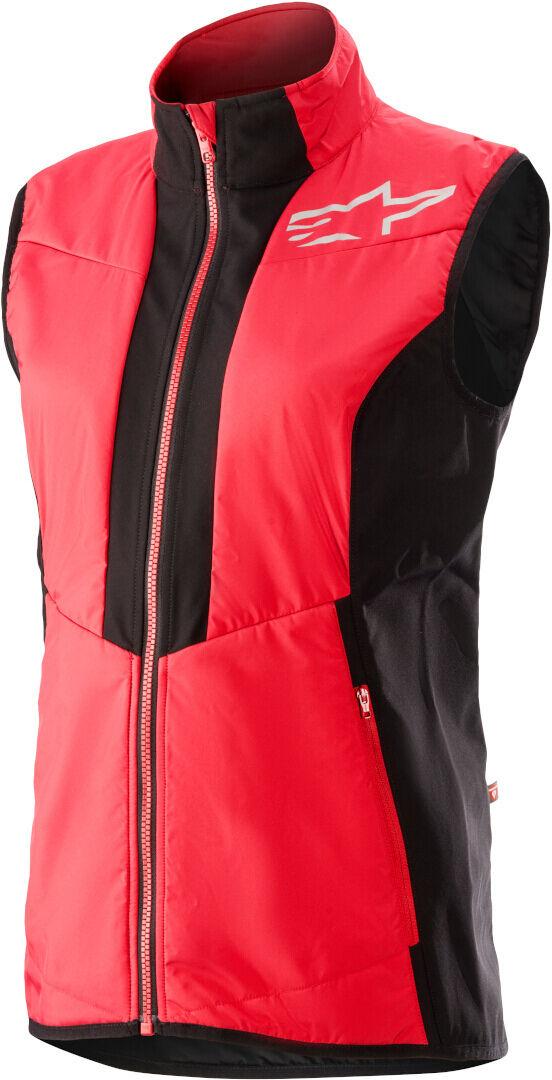 Alpinestars Stella Denali 2 Gilet de vélo pour dames Noir Rouge taille : XS