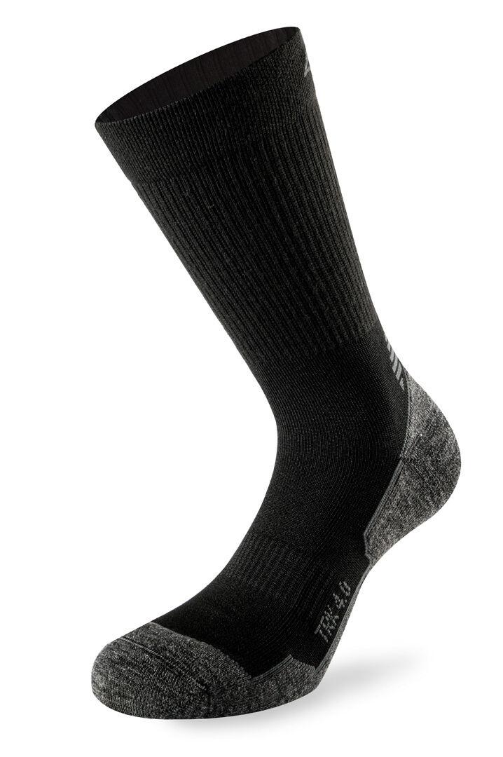 Lenz Trekking 4.0 Socks Chaussettes Noir taille : 35 36 37 38
