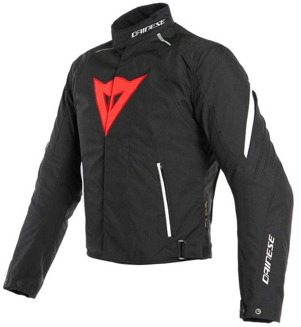 Dainese Laguna Seca 3 D-Dry Veste Textile moto Noir Blanc Rouge taille : 48