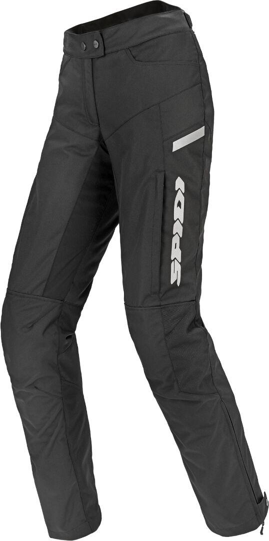 Spidi Voyager H2Out Pantalon Textil de moto de dames Noir Blanc taille : XL
