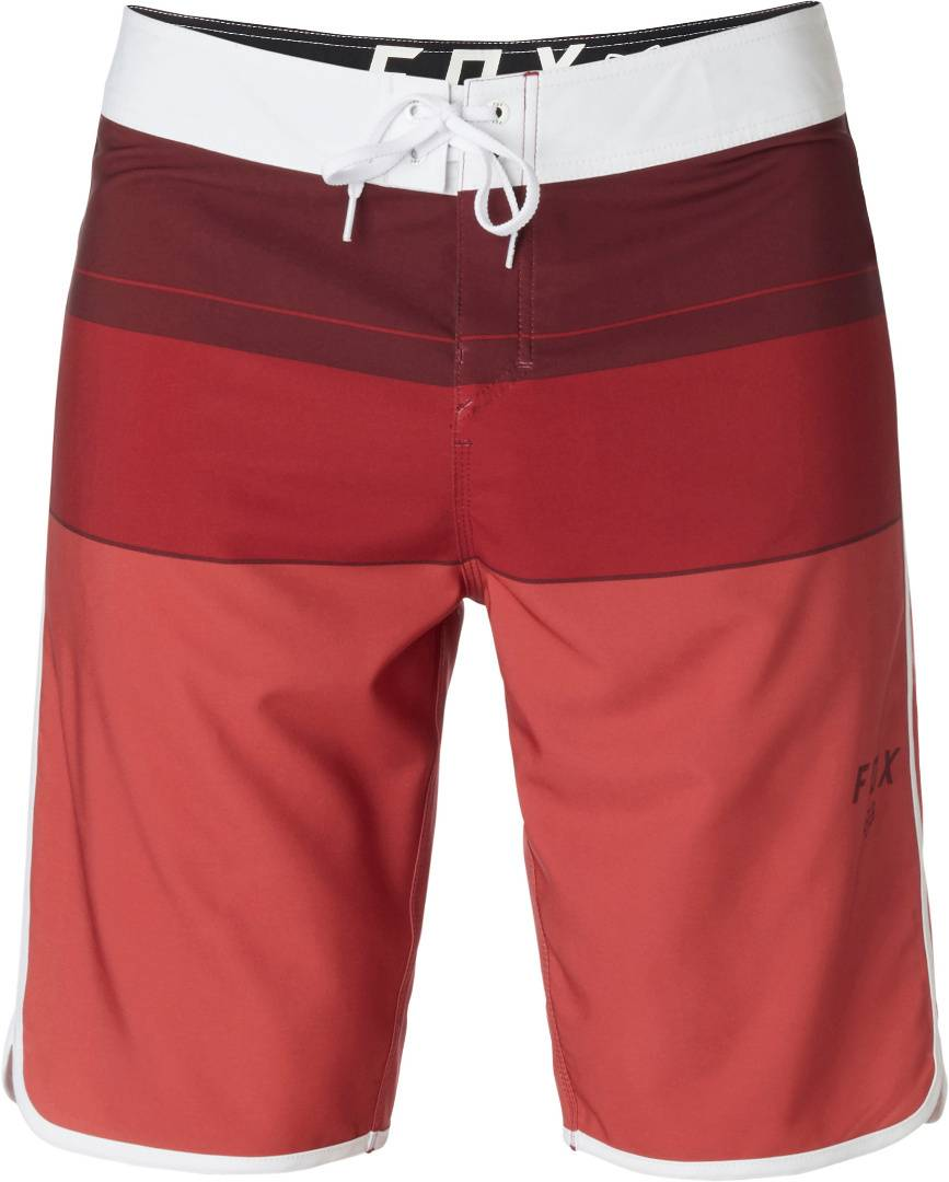 FOX Step Up Stretch Boardshort Shorts de bain Rouge taille : 34
