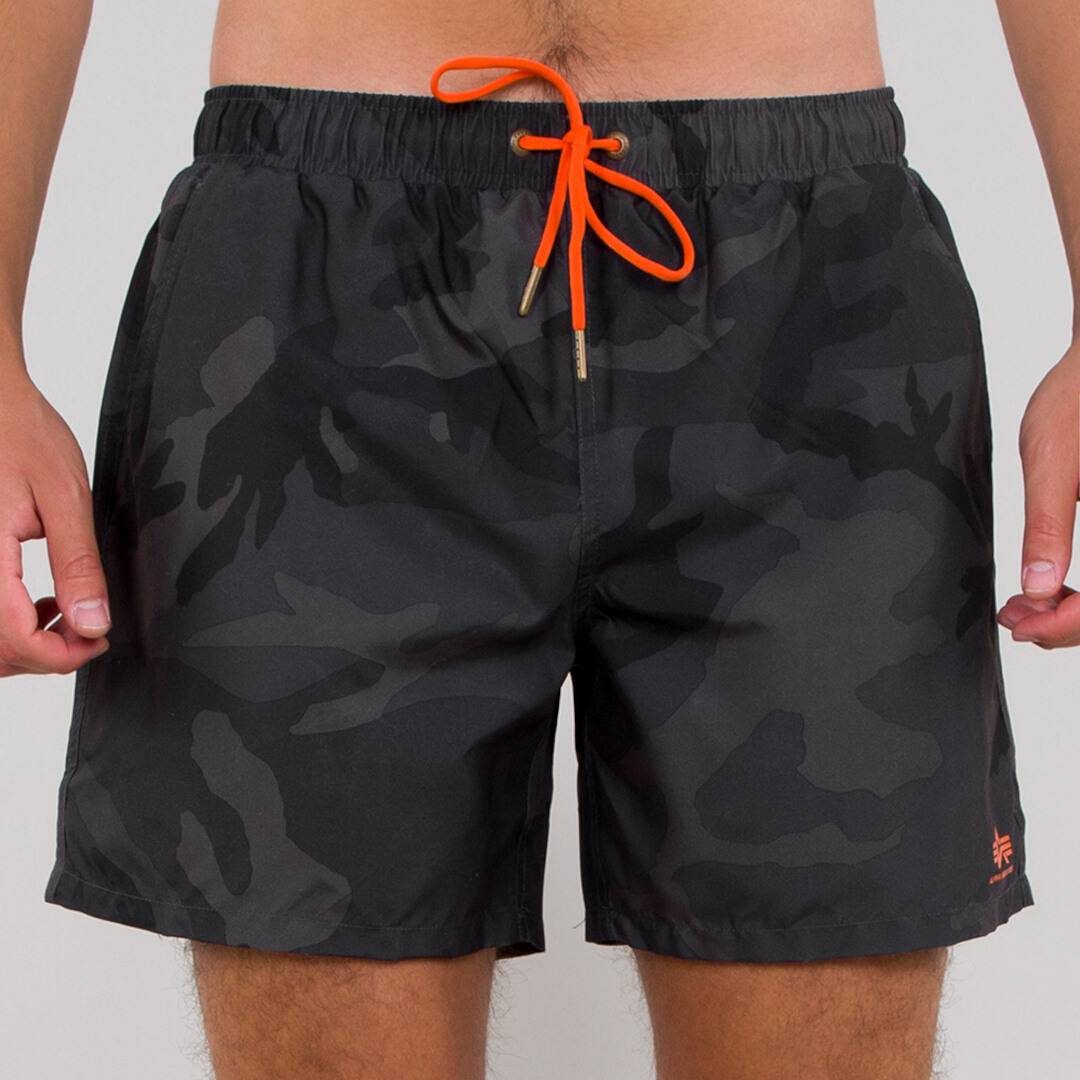 Alpha Industries Basic Shorts de natation Noir taille : 2XL