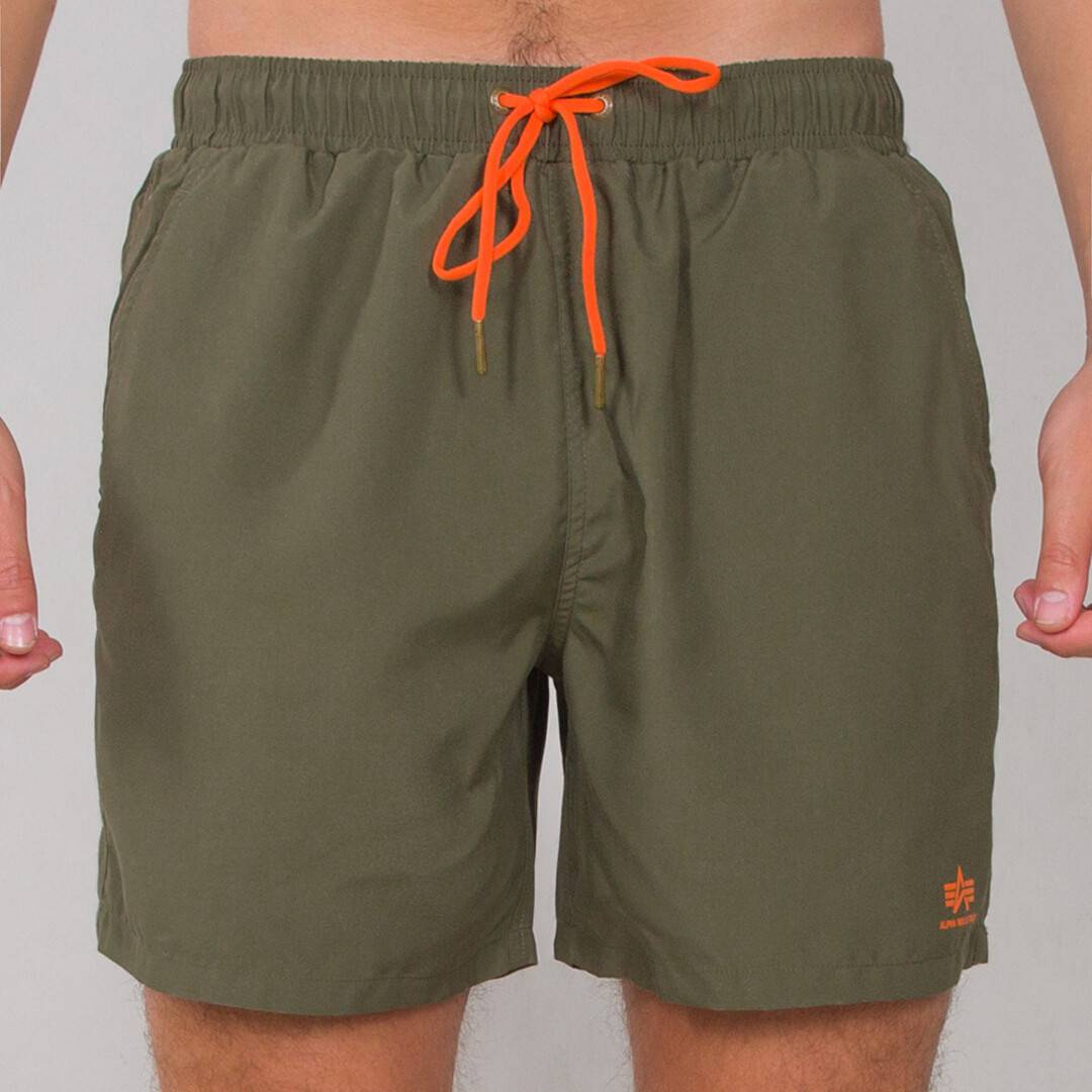 Alpha Industries Basic Shorts de natation Vert taille : S