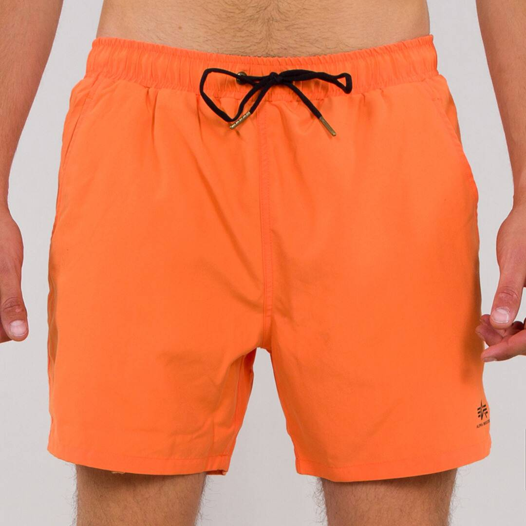 Alpha Industries Basic Shorts de natation Orange taille : M