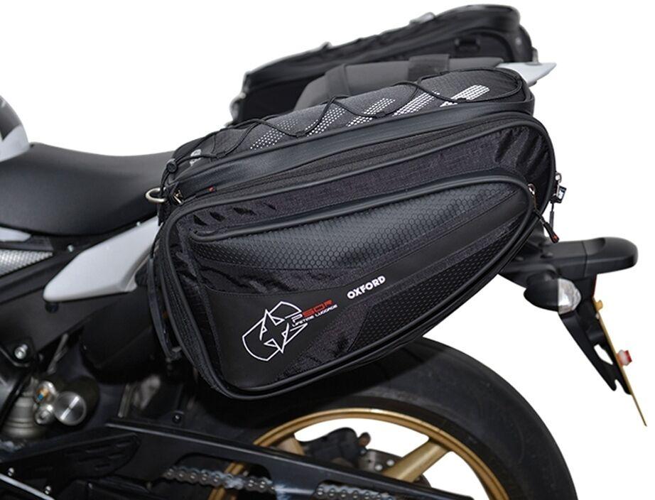Oxford P50R Sacoche de selle moto Noir 41-50l