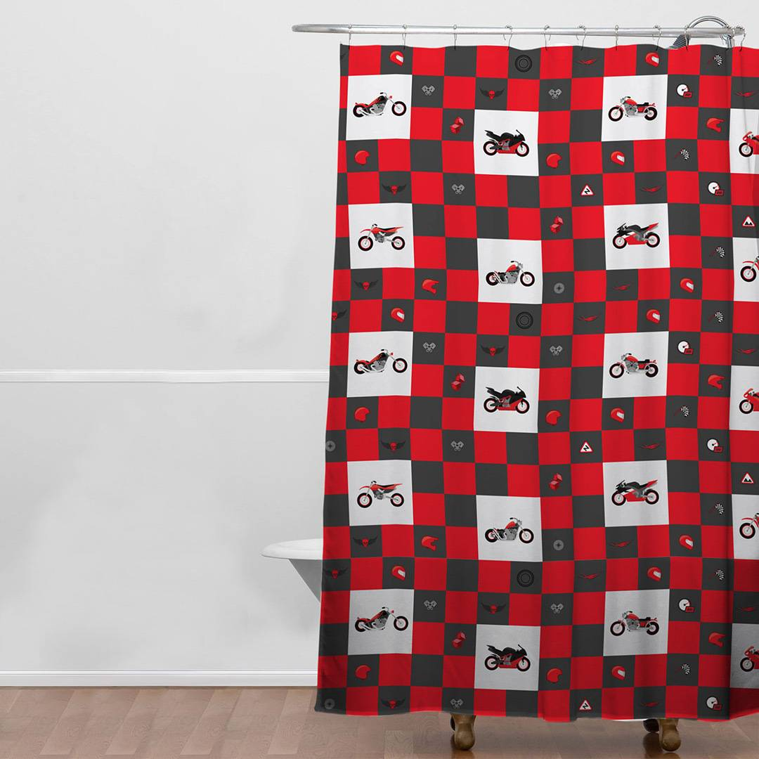 Booster Shower curtain taille :