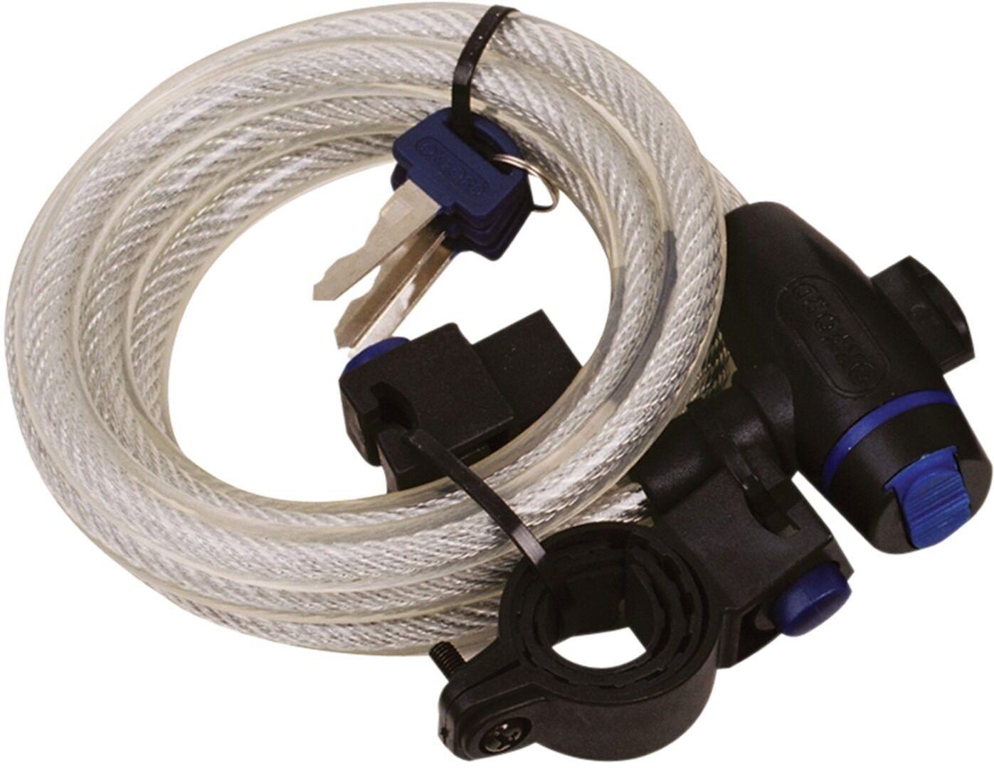 Oxford Verrouillage de câble Blanc taille : unique taille