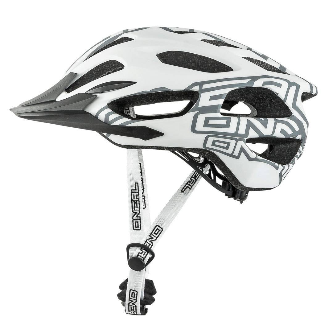 Oneal O´Neal Q RL Graphic Casque de vélo Blanc taille : L XL