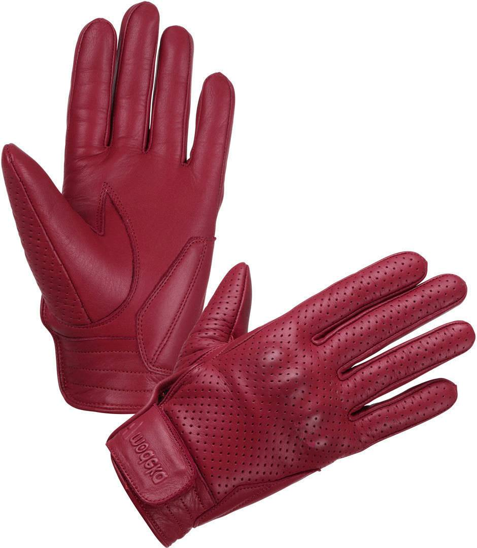 Modeka Hot Classic Gants de moto Rouge taille : M L