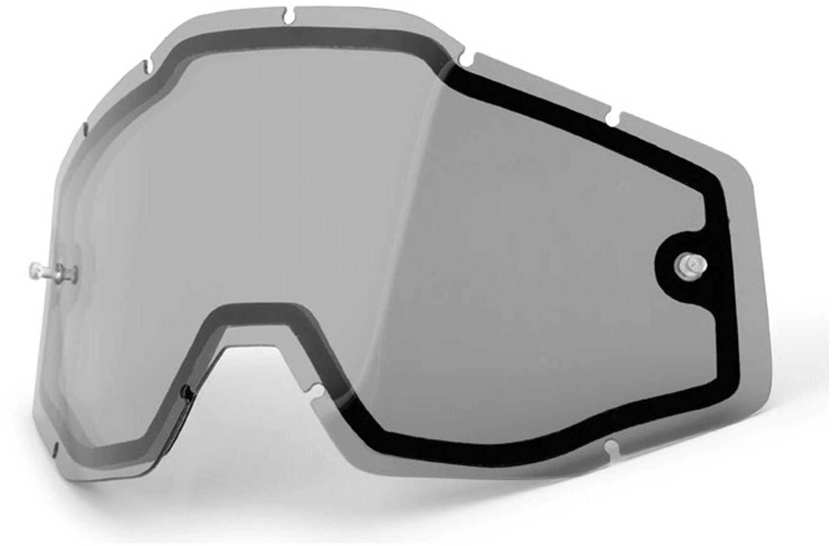 100% Enduro Vented Dual Lentille de remplacement transparent taille : unique taille