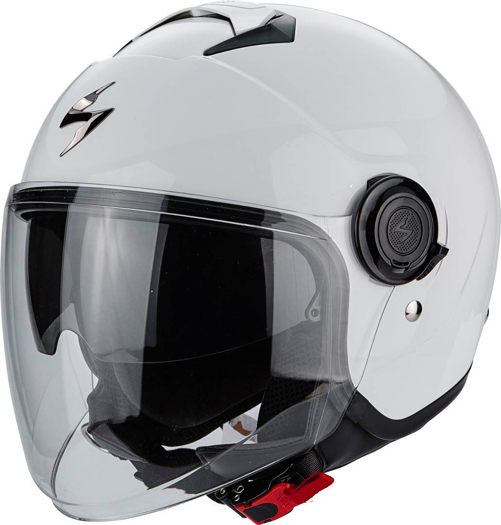 Scorpion Exo City Solid Casque Jet Blanc taille : S