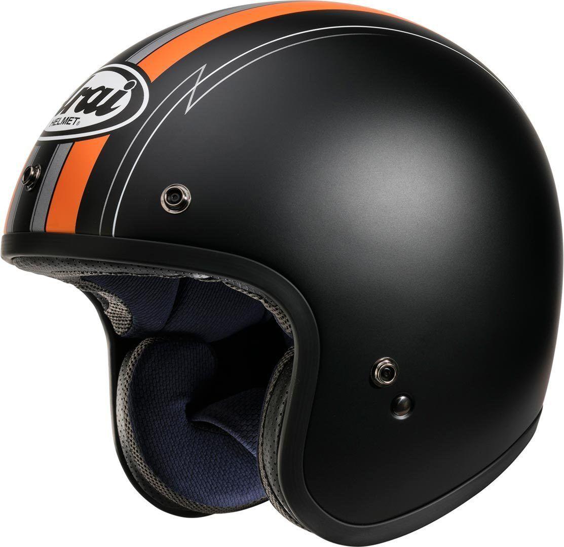 Arai Freeway Classic Ride Casque jet Noir Orange taille : S