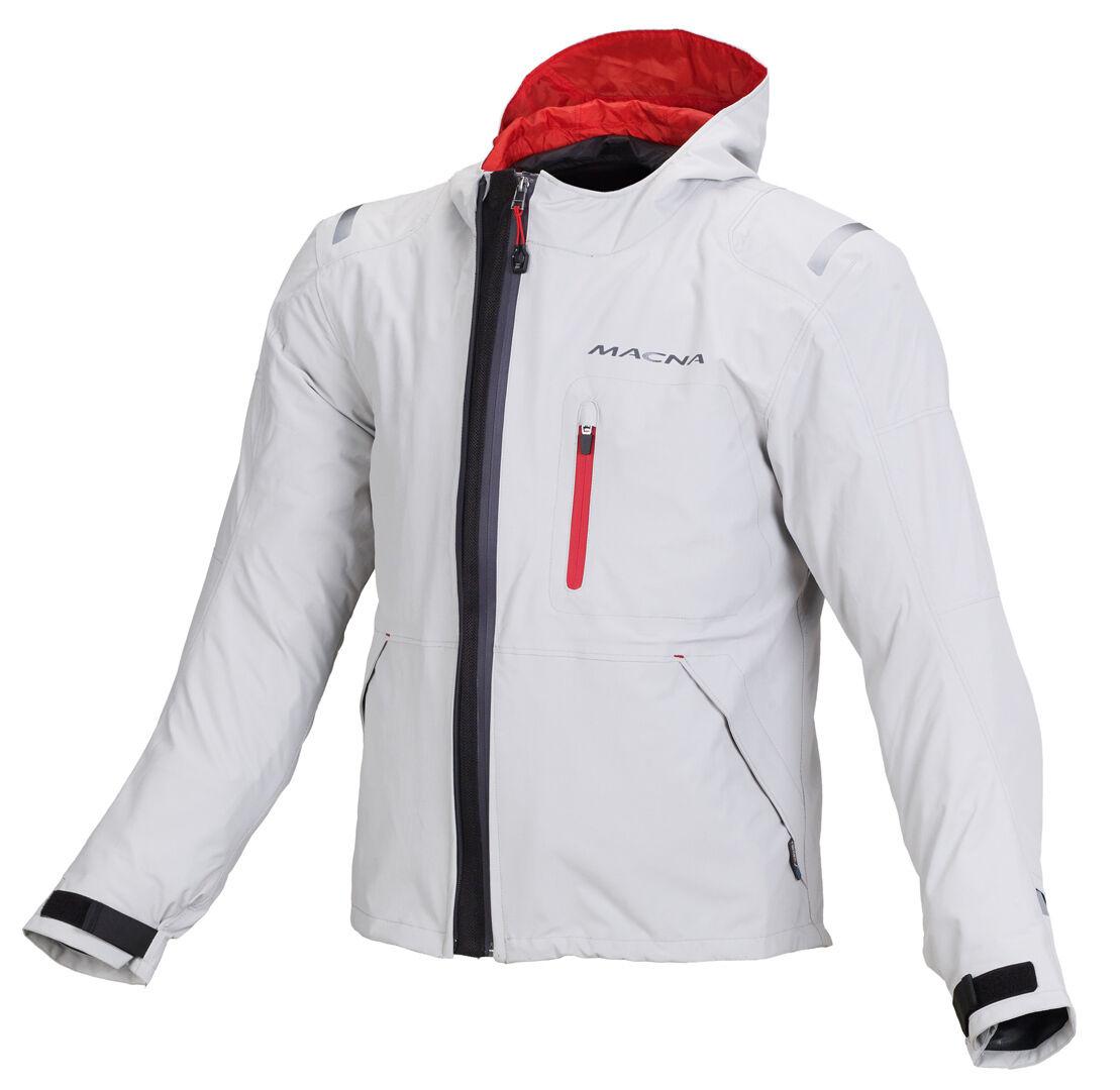 Macna Refuge Veste textile Blanc taille : 2XL