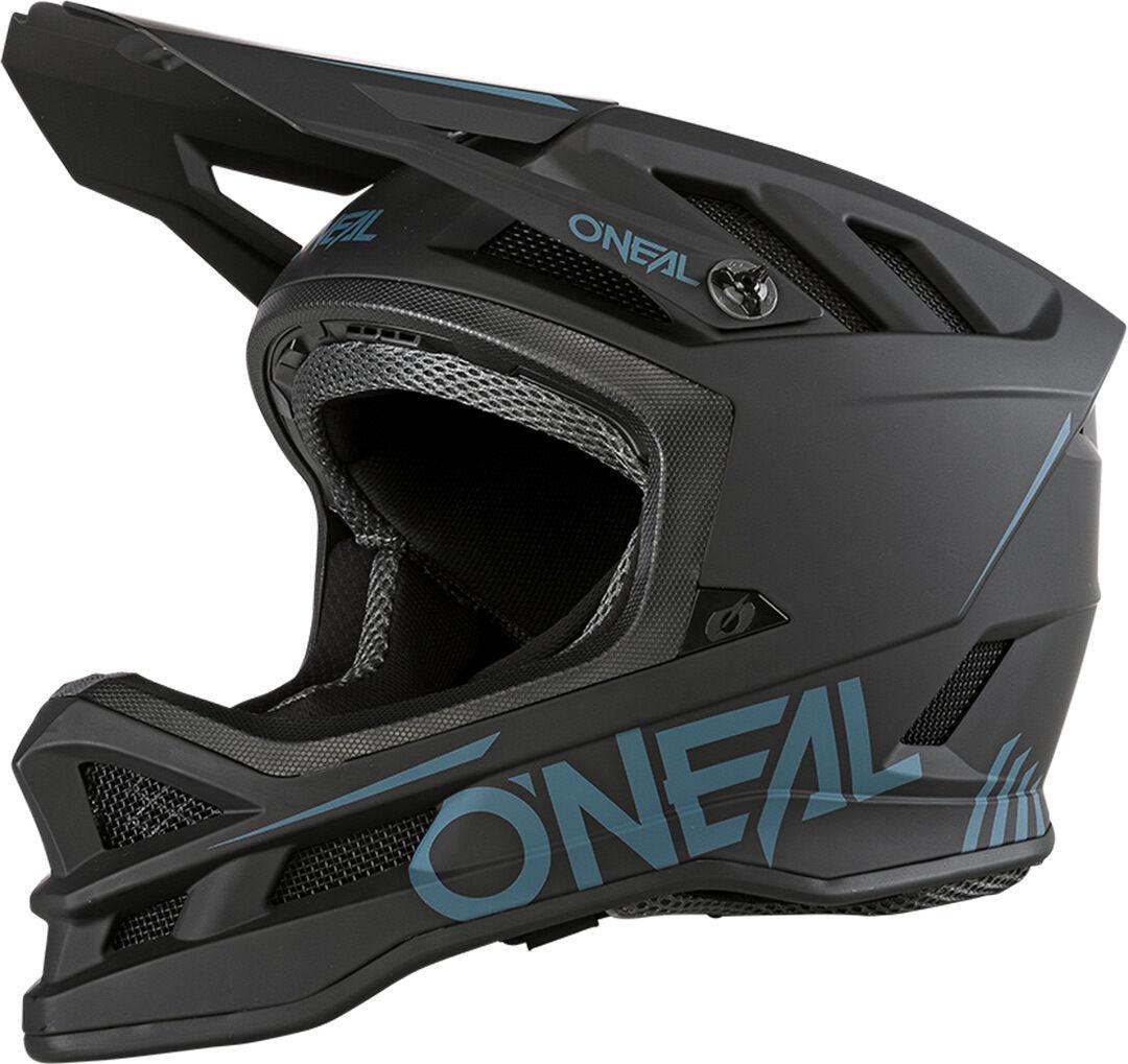 Oneal Blade Polyacrylite Solid Casque de descente Noir taille : S