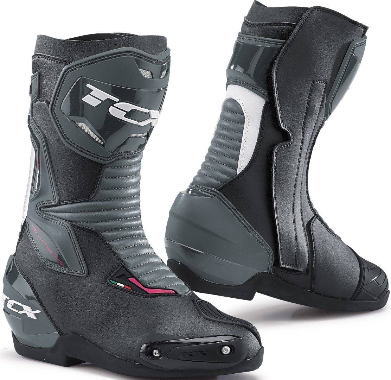 TCX SP-Master Bottes de moto pour dames Noir Blanc taille : 40