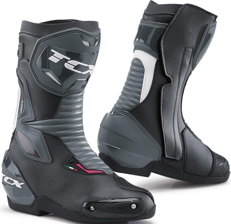 TCX SP-Master Bottes de moto pour dames Noir Blanc taille : 36
