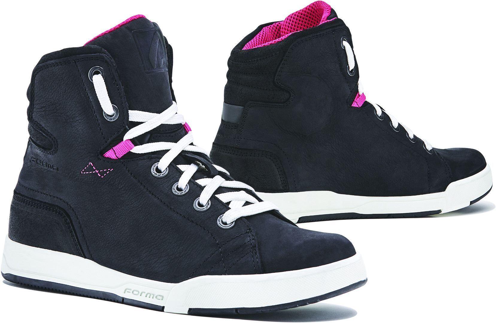 Forma Lady Swift Dry Chaussures de moto pour dames Noir Blanc taille : 36