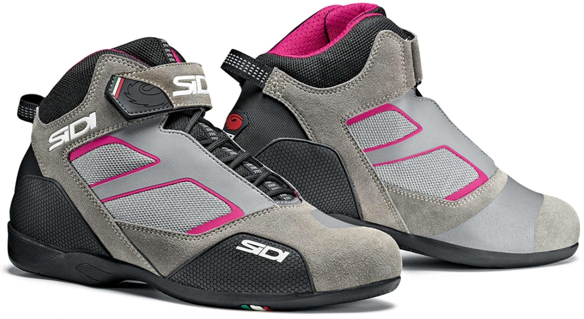 Sidi Meta Chaussures de moto pour dames Gris Rose taille : 41