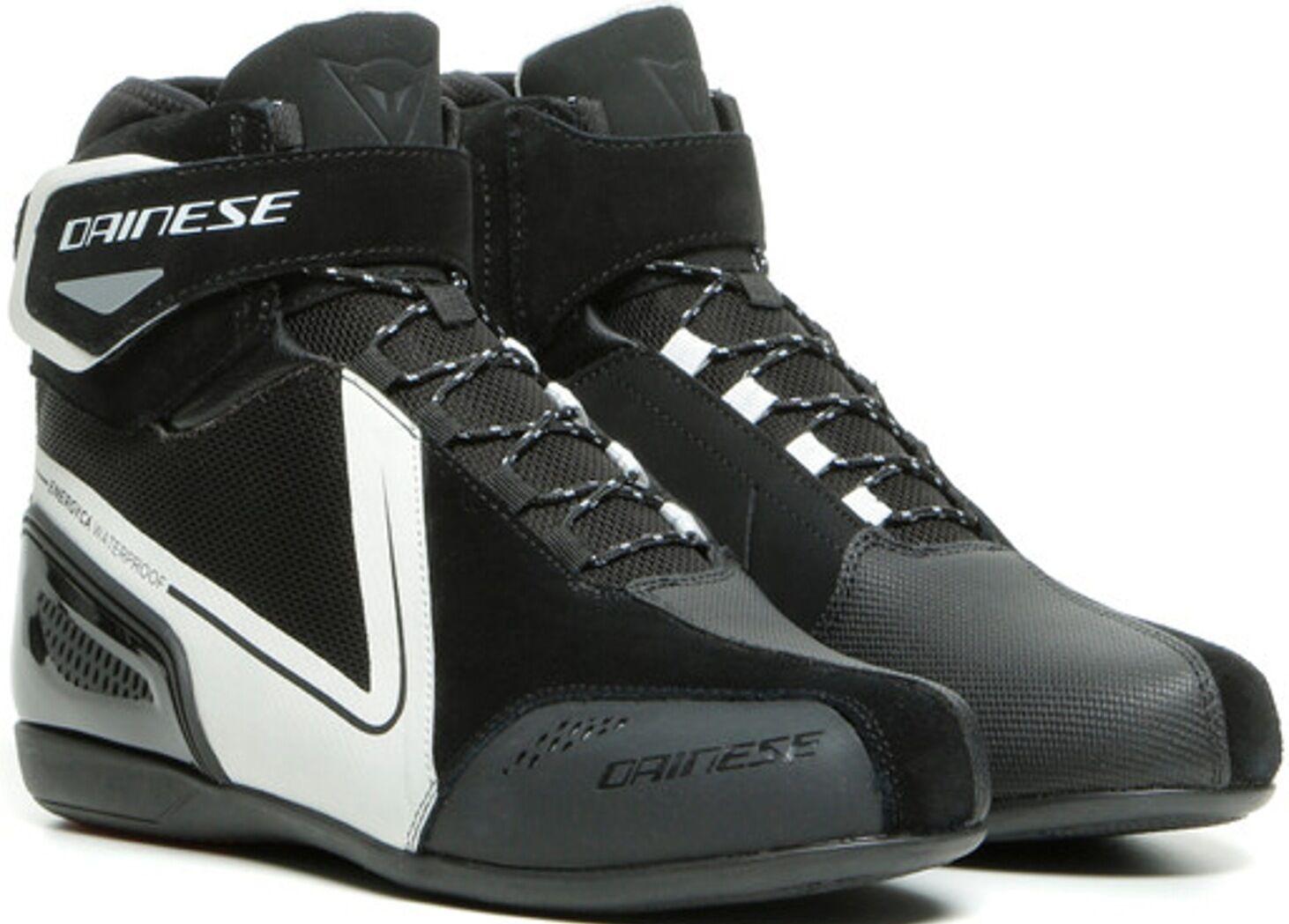 Dainese Energyca D-WP chaussures de moto imperméables pour dames Noir Blanc taille : 36