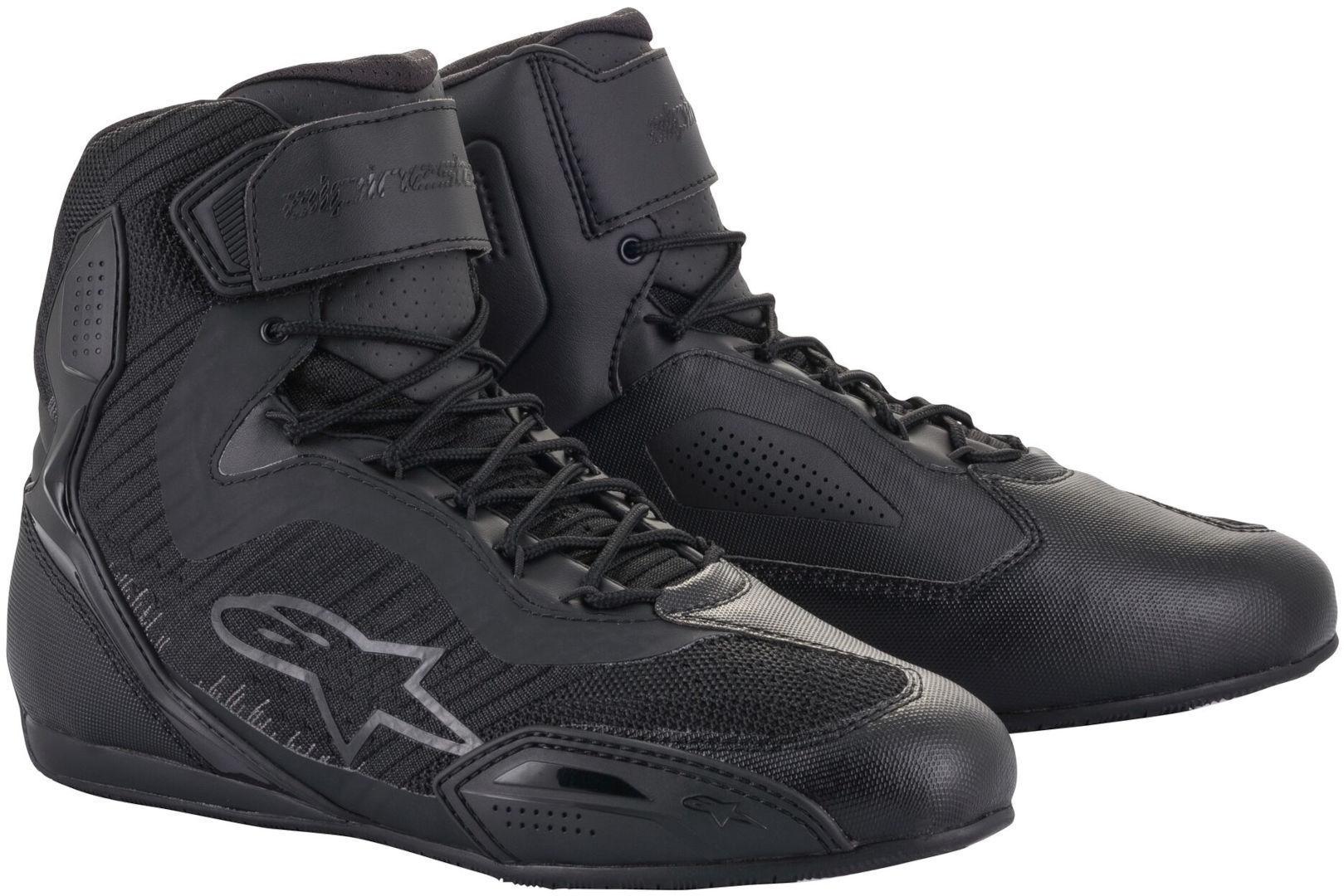 Alpinestars Stella Faster-3 Rideknit Chaussures de moto dames Noir Gris taille : 37 38
