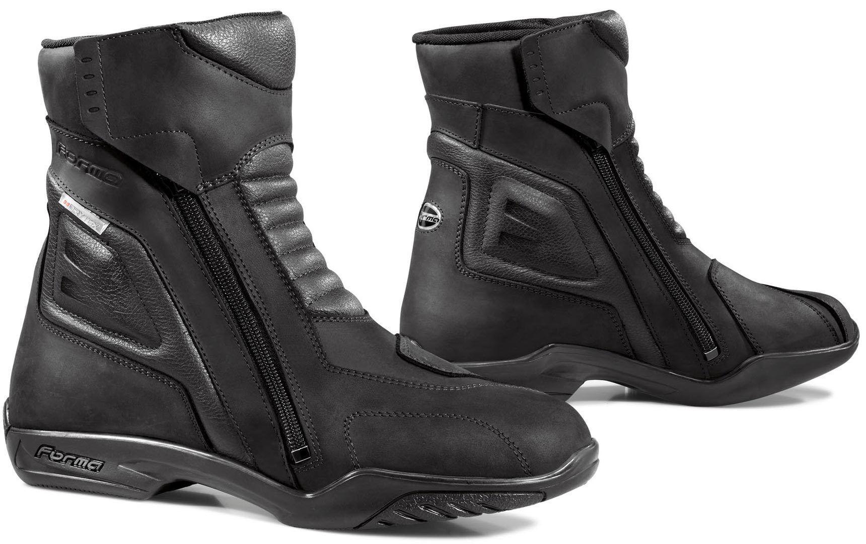 Forma Latino Bottes de moto imperméables Noir taille : 40